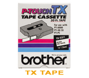 P-Touch Label TX Tape